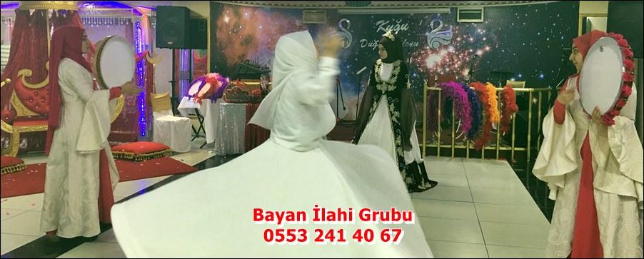İslami Kına Organizasyon - Bayan Semazen Ekibi